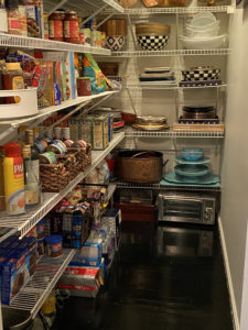 kitchen pantry after
